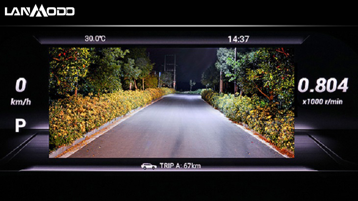 night vision for Toyota Prado