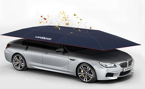مظلة Lanmodo للسيارات والتي تتناسب مع جميع الفصول تحمي سيارتك على مدار أيام السنة