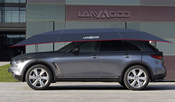 Lanmodo Mobile Car Umbrella Protect Your Car From External Damages
