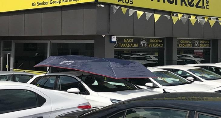 Lanmodo car canopy