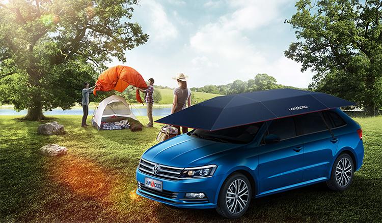 lanmodo sunshade car tent for camping parking