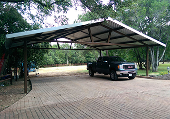 metal car carport