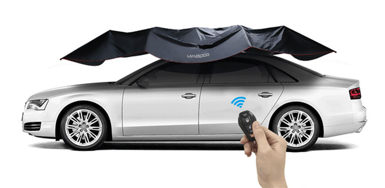 foldable car tent