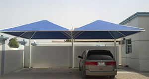 stationary car shade canopy