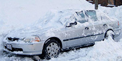 heavy snow will cause problem for your car