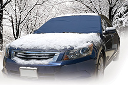 winter car windscreen cover