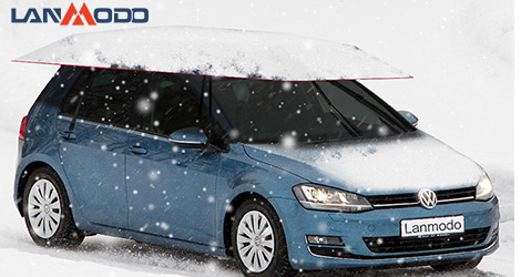 A New Choice for Car Owners to Protect Car in This Winter---Lanmodo Car Tent