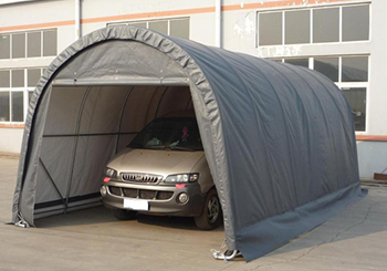 traditional PVC car shelter