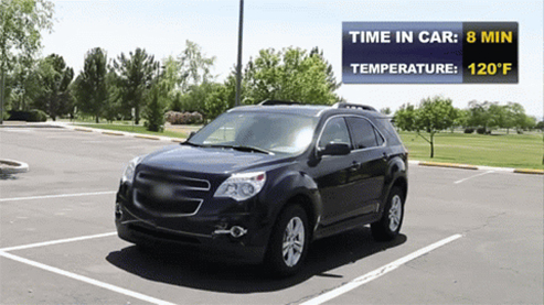 Have You Ever Thought Of Keeping Your Car In A Cool Place, Outside A  Shining Sun? It Is Necessary You Do So, Due To The Unbearable Heat And The  Effects Of ...