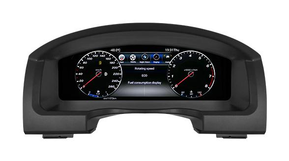 "Lanmodo Race for Toyota Land Cruiser—12.3"" Full LCD Instrument Cluster"