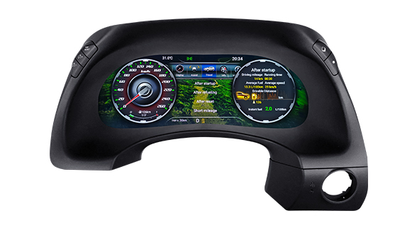 "Lanmodo Race for Nissan Patrol Y62—12.3"" Full LCD Instrument Cluster"
